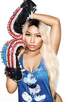 Nicki Minaj - On the cover of Nylon April 2016 Issue