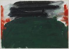 "ALFONS BORRELL ""16.8.92"" Acrílico sobre papel. 23x32cm"