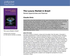 "♥ Lançamento Mundial ""The Luxury Market in Brazil : Opportunities and Potential"" by Claudio Diniz  ♥ Londres ♥  http://paulabarrozo.blogspot.com.br/2014/04/lancamento-mundial-luxury-market-in.html"