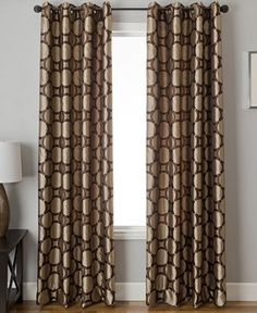 Softline Element Circle Window Treatment Collection - Curtains & Drapes - For The Home - Macy's
