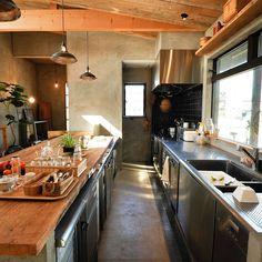 Kitchen/観葉植物/ダイソー/照明/ナチュラル/IKEA...などのインテリア実例 - 2015-05-21 03:58:16