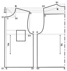 Cara mudah mendapatkan pola menjahit baju sesuai dengan ukuran badan dan kebutuhan pemakainya yaitu dengan memesan pola baju siap pakai.