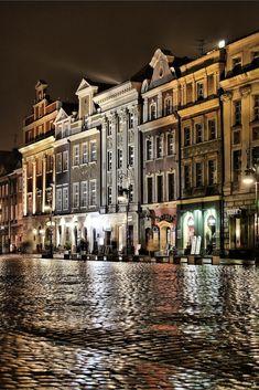 Poznan Poland, Wieczór na poznańskiej Starówce. [fot. Tomasz Baumgart]
