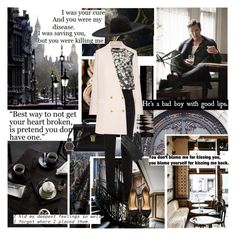 """""""""""It is not despair, for despair is only for those who see the end beyond all doubt. We do not.""""  ― J.R.R. Tolkien,"""" by azomyr20 ❤ liked on Polyvore featuring xO Design, Yves Saint Laurent, The Row, Jil Sander, Marc Jacobs, Monique Lhuillier, Dents, Lanvin and Charlotte Olympia"""