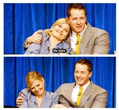 My baby. #OUAT #Charming #Emma