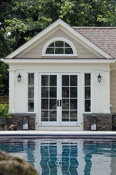 Pool House Design Ideas | Pinterest | Pool house designs, Small ...