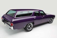 "utwo: "" '71 Chevrolet Chevelle Wagon © msn.com "" Purple people eater."