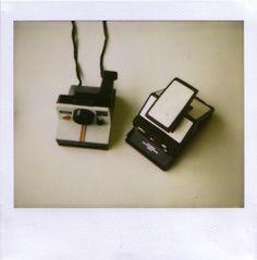 polaroid cameras.