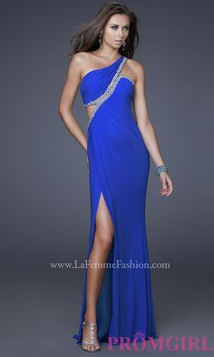 Long Prom Dress Style: LF-16379 Detail Image 2