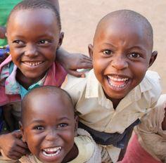 Village kids. Look at those smiles. #rwanda
