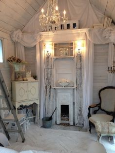 Upcycle glam - the ultimate in shed chic