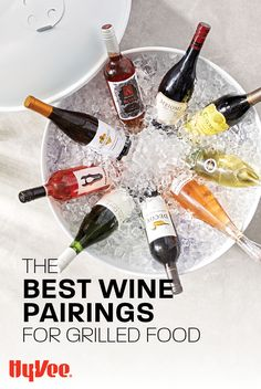 A well-paired wine can make any meal more memorable. Learn how to complement your grilling with red wine, white wine, and rosés with help from the Wine & Spirits experts at Hy-Vee. White Wine, Red Wine, Chicken And Veggie Recipes, Good Burger, Grilled Meat, Wine And Spirits, Recipe Using, Grilling Recipes, Seafood