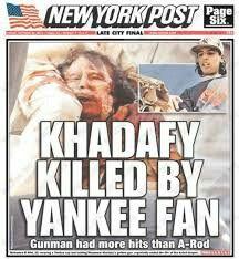 Muammar Gaddafi  (Khadafy) Dead (October 20, 2011)