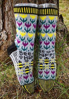 Ravelry: Bee Happy - Happy Bee pattern by Lill C. Schei