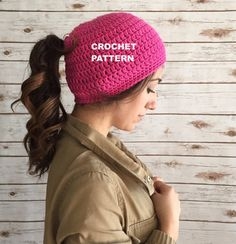 This is the pattern ONLY, not the actual crocheted hat.  Perfect for every occasion and everyday! You can purchase finished products at my other shop http://www.etsy.com/shop/crochetconcepts?ref=ss_profile  This is an original design. The instructions are in American stitches. This pattern would be class: Easy / Advanced beginner  You may sell finished items made from my patterns. You may not use my photos and must use your own pictures. If you are selling online, please link back to this…