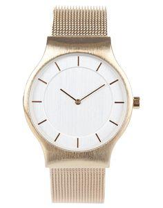minimal style womens watch