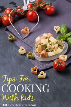 Get your kids busy in the kitchen! Cooking with kids doesn't have to be overwhelming! Check out these great tips for how to teach kids to cook!