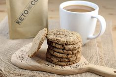Peanut Butter Coffee Protein Cookies – Keto Delivered