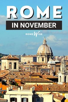 If you are coming to Rome in November, you will have some of the best of everything: still pretty fair weather (sometimes); still nice light during the day; the end of the peak fall season; and, my personal favorite: the beginning of artichoke season. Rome Travel, Italy Travel, Artichoke Season, Rome Attractions, Fall Season, Trip Planning, Travel Guide, Taj Mahal, The Neighbourhood