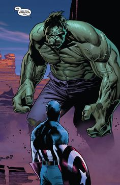 """Hulk Will Smash For You"" // artwork by Oliver Coipel and Laura Martin (2012)"