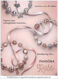 Tendance Bracelets Pandora rose spring collection 2016 Google Search