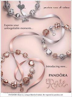 Tendance Bracelets Pandora rose spring collection 2016 Google Search