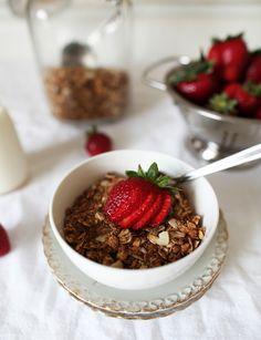 Homemade granola (gluten free)