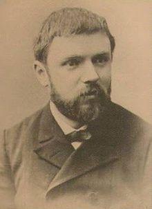 Henri Poincaré  http://nl.wikipedia.org/wiki/Henri_Poincaré