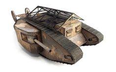 World of Tanks - Tank Mark I Free Paper Model Download - http://www.papercraftsquare.com/world-of-tanks-tank-mark-i-free-paper-model-download.html#150, #MarkI, #Tank, #WorldOfTanks, #WWI