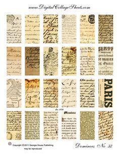 Free Scrapbook Newsprint Paper   Creative Pursuits~Printables (2)