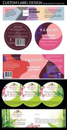 Whole Catalog Template Custom Label Design