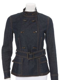 If I were to get a denim jacket, this is the one I would wear! So cute.