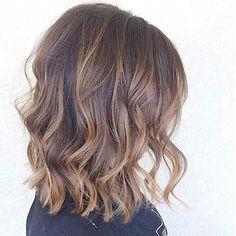 Ash Blonde Balayage Hair Bob Cuts