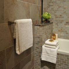 bathroom tile bathroom tile accessories images home design from Bathroom Tile Accessories Modern Baths, Contemporary Bathrooms, Leroy Merlin Deco, Whole House Fan, Tub Surround, Bath Fixtures, Bath Design, Bathroom Organization, Image House