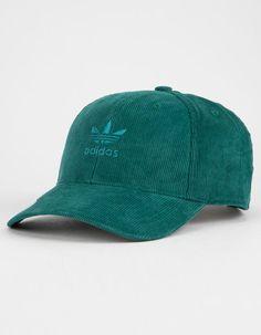 2d8db9801c6 ADIDAS Originals Relaxed Corduroy Green Mens Dad Hat - GREEN - CJ7694