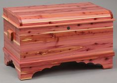 This Petite Waterfall Cedar Hope Chest is handcrafted by our expert Amish Craftsman and proudly made in the USA of solid cedar wood. Our cedar wood hope ch Furniture Fix, Amish Furniture, Solid Wood Furniture, Furniture Design, Wood Projects, Woodworking Projects, Log Home Interiors, Pet Urns, Wood Chest