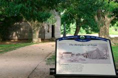 Every true Texan must visit Washington on the Brazos State Historic Site to see where the Texas Declaration of Independence was signed.