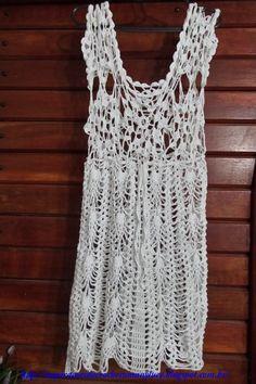 db4941fe4e31 17 bästa bilderna på Strand klänning virkad i 2019 | Crochet clothes ...