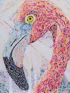 Art artist impressionism, ARTeets.com, color pencil art, artist, mosaic, birds, animals, impressionism, pointillism, portraits About Steve
