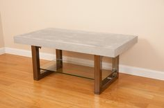 Concrete Top Table. $675,00, via Etsy.