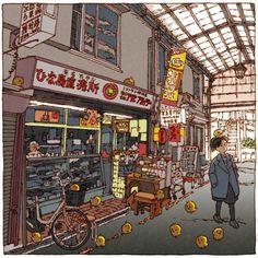 100 illustrations pour découvrir Tokyo