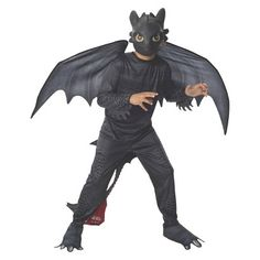 Boys How To Train Your Dragon: Toothless Costume