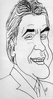 CARICATURAS DELBOY: JAY LENO