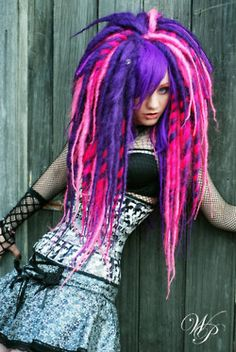 I love the vivid colors, blending and fluff although my personal preference is not for side bang; side bang + volume reminds me too much emo-scenester hair.