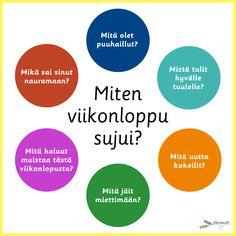 Terveys ja hyvinvointi - Värinautit Diy Finger Knitting, Finnish Language, Ice Breakers, Early Childhood Education, Pretty Words, Special Education, Mindfulness, Classroom, Teaching
