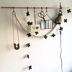 houten kralen decoratie - Google zoeken