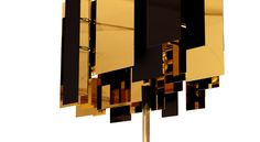 The Fo Tan floor lamp was inspired by the artists' studios and pocket-sized galleries in Hong Kong's Art District.  #modernlighting #lightingdesign #interiordesign #luxurylighting #homeinteriors #designhouse #decor #interiordecor #interiorlighting #interiorlamps