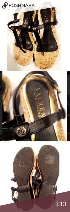 Ralph Lauren flats! 6.5 Very gently worn. No deficits! Ralph Lauren Shoes Sandals