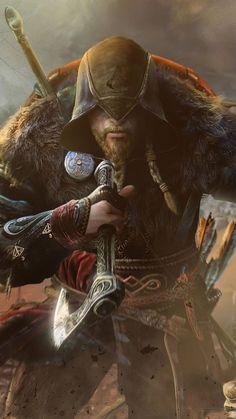 Assassins Creed Rogue, Assassins Creed Odyssey, Assassin Names, Vikings, Assesin Creed, Desenhos Clash Royale, Assassin's Creed Wallpaper, Character Art, Character Design