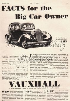 Vauxhall Vauxhall Motors, The Bedford, Commercial Vehicle, All Cars, Car Brands, Peugeot, Classic Cars, The Past, Posters